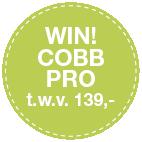 Cobb Pro barbecue zwart