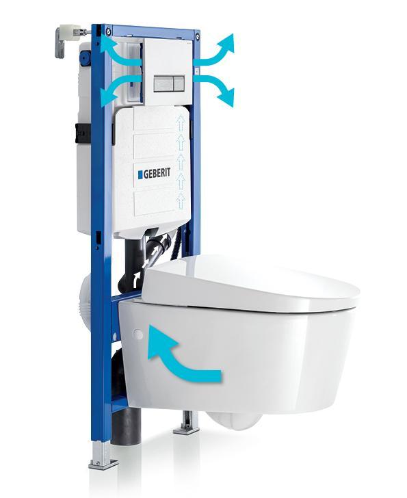 Geberit DuoFresh: Altijd een fris toilet!