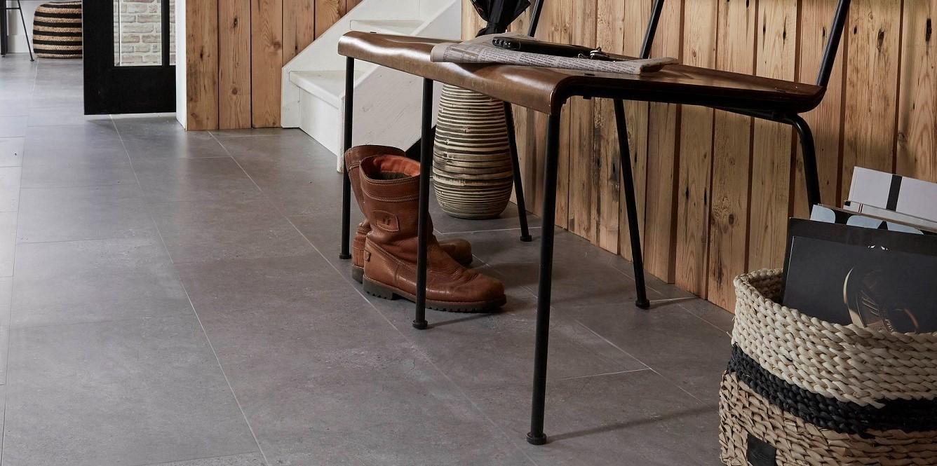 PVC vloeren met een betonlook