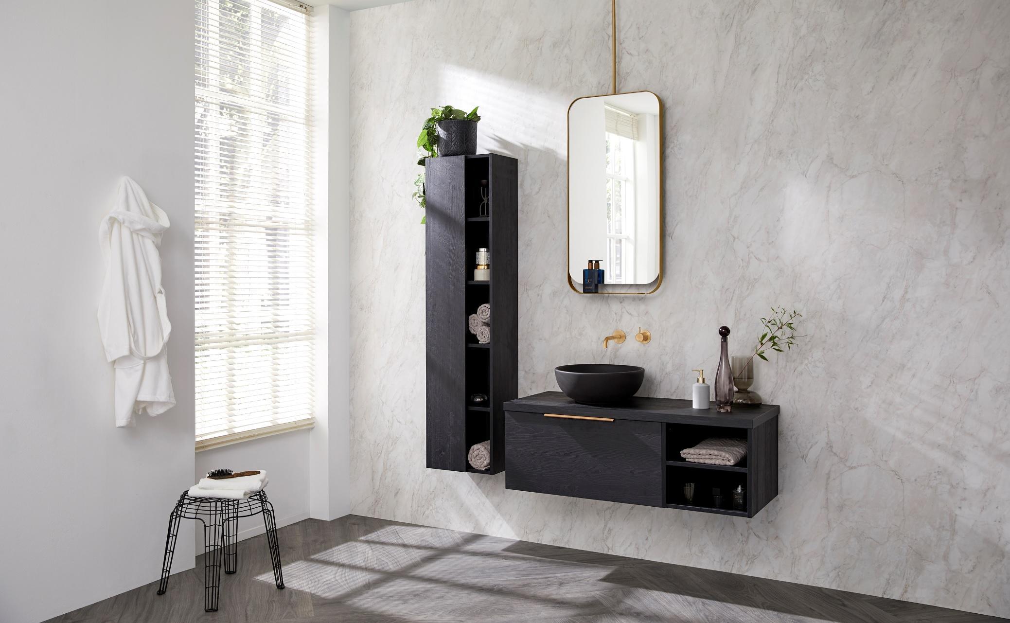 De mooiste badkamer raambekleding