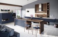 Een toffe blauwe keuken