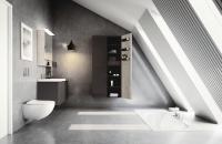 Een stoere betonlook badkamer