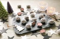Kerstrecept: Kersentruffels in een laagje sneeuw