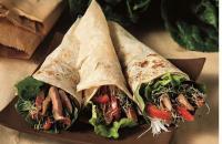 Recept: balsamico beef in tortilla wraps