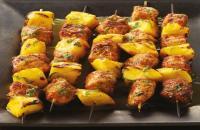 Recept: varken-mango kebabs