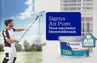 Sigma Air Pure muurverf voor een zuivere lucht