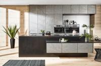 Stijlvolle grijze keukens