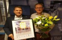 Derde beste zelfstandige winkelier van Nederland 2016