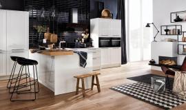 Een tijdloze witte keuken