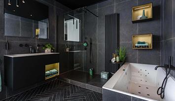 Industriële badkamer inspiratie