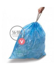Afvalzakken Code V 16-18L (60 stuks)