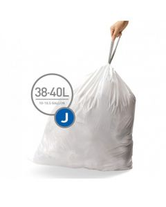 Afvalzakken Code J 38-40L (20 stuks)