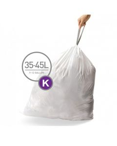 Afvalzakken Code K 35-45L (20 stuks)