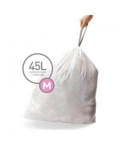 Afvalzakken Code M 45L (20 stuks)