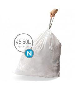 Afvalzakken Code N 45-50L (20 stuks)