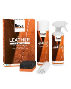 Leather Care Kit - Brushed & Vintage Leather (Nieuw)