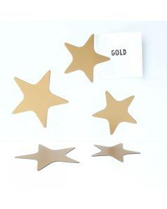 Magneetset sterren goud