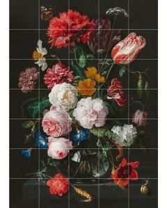 Flowers Dark and Light - Medium