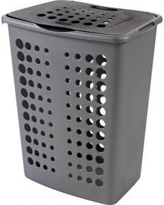 Victor wasbox 60 liter zilver