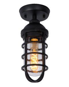 Plafondlamp Limal zwart
