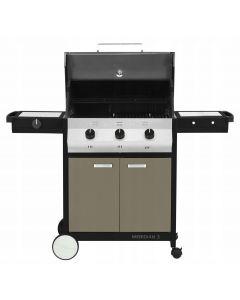 Gasbarbecue Meridian Dakota Grey 3B SB