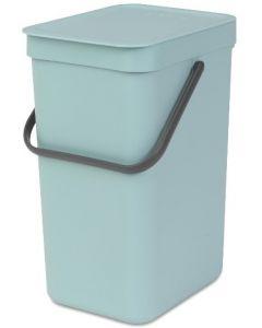 Sort & Go afvalemmer 12 liter mint