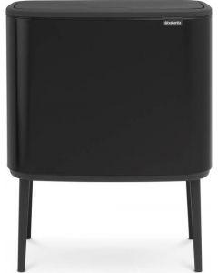 Bo Touch Bin afvalemmer 11 + 23 liter matt black