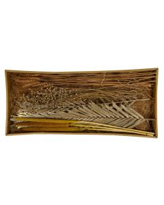 Exotic mix tray 59x26x6cm Gold-wash