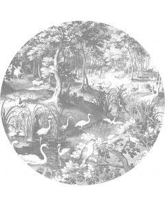 Behangcirkel XL Engraved Landscapes 237.5 cm BC-045