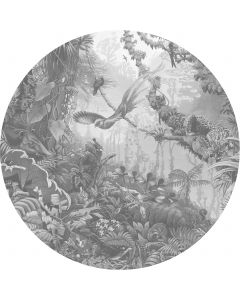 Behangcirkel XL Tropical Landscapes 237.5 cm BC-081