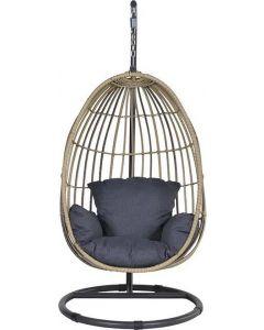 Swing chair egg Panama natrel