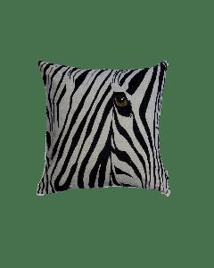 Kussen Fluweel Zebra 50x50cm