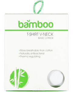 Basic bamboo t-shirt v-hals