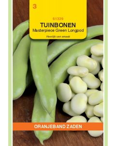 Zaden Tuinboon Masterpiece Green Longpod