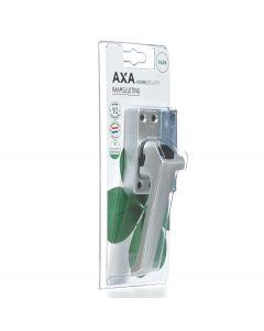 AXA raamboom met sluitplaat en drukknop links f1