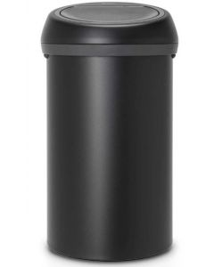 Touch Bin 60 liter mineral moonlight black