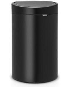 Touch Bin recycle afvalemmer 10 + 23 liter matt black