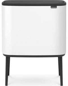 Bo Touch Bin afvalemmer 3 x 11 liter white