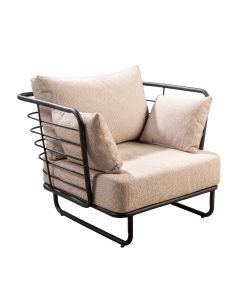 Taiyo lounge chair flax