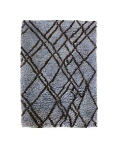 Vloerkleed Berber grey/blue 180x280