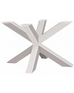 Onderstel Model Spin 120 wit metaal - 120x80x71cm - profiel 10x10cm